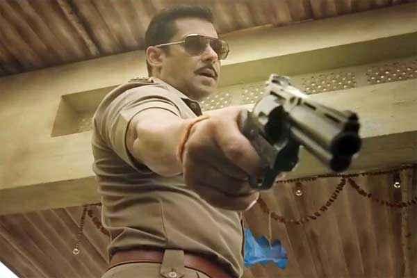 Dabangg 2 Salman Khan with Gun Stills