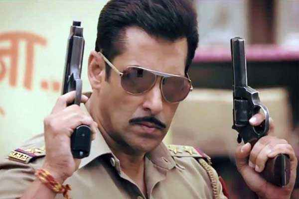 Dabangg 2 Salman Khan with Guns Stills