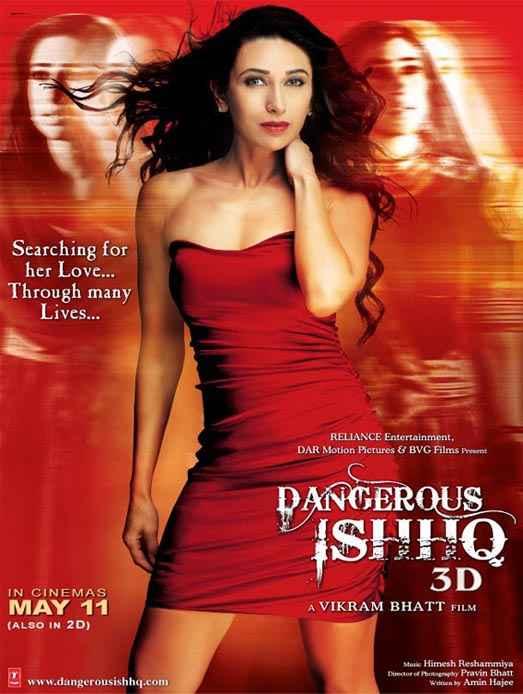 Dangerous Ishq Karishma Kapoor Poster