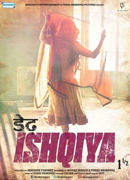 Dedh Ishqiya Madhuri Dixit Wallpaper Poster