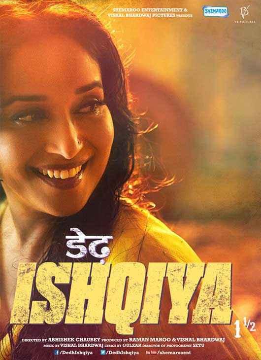 Dedh Ishqiya Madhuri Dixit Poster