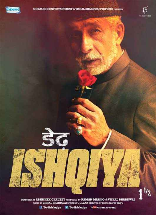 Dedh Ishqiya Naseeruddin Shah Poster