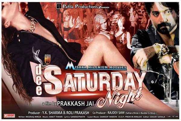 Dee Saturday Night Sexy Poster