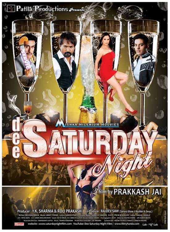 Dee Saturday Night Poster