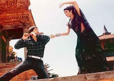 Deewana Main Deewana 2012 Govinda Priyanka Chopra In Dance Scene Stills