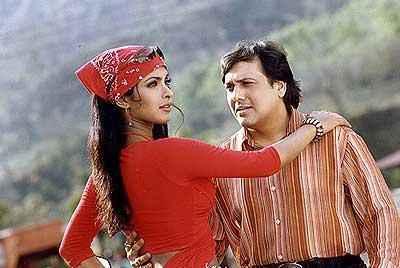 Deewana Main Deewana 2012 Govinda Priyanka Chopra In Romantic Scene Stills