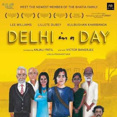 Delhi In A Day Poster