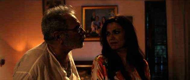 Delhi In A Day Kulbhushan Kharbanda Lillete Dubey In Romantic Scene Stills