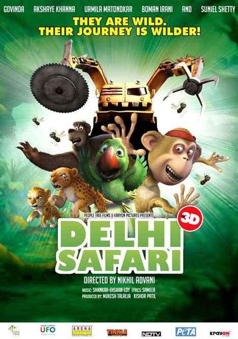 Delhi Safari Photos Poster