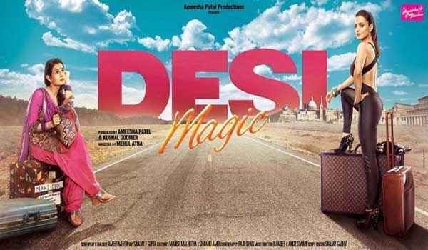 Desi Magic Amisha Patel Poster