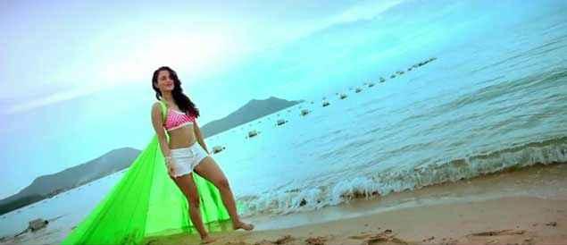 Desi Magic Amisha Patel Short Dress Stills