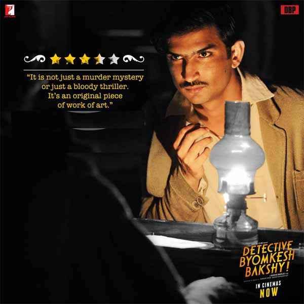 Detective Byomkesh Bakshi Image Poster