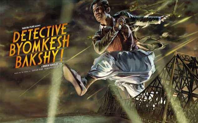 Detective Byomkesh Bakshi Sushant Singh Rajput Poster