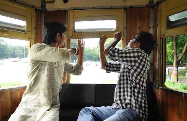 Detective Byomkesh Bakshi Sushant Singh Rajput Dibakar Banerjee at Shooting Location Stills