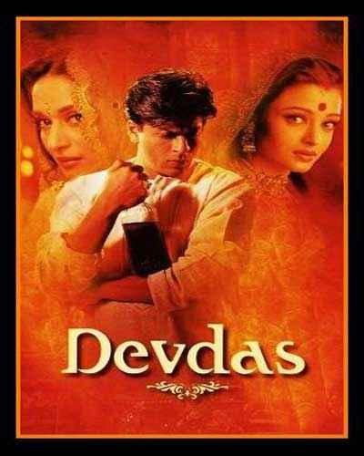 Devdas (2002)  Poster
