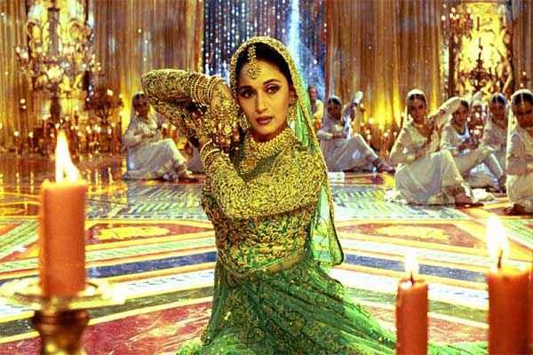 Devdas (2002) Madhuri dixit in Green Dress Stills