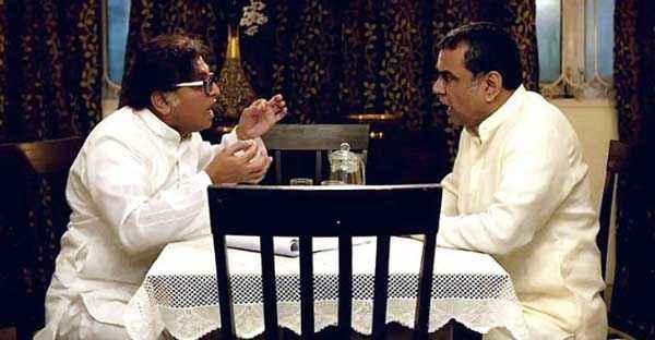 Dharam Sankat Mein Annu Kapoor Paresh Rawal Discussing Stills