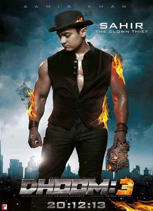 Dhoom 3 Aamir Khan Poster