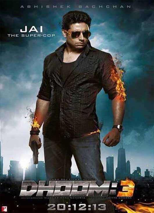 Dhoom 3 Abhishek Bachchan Poster