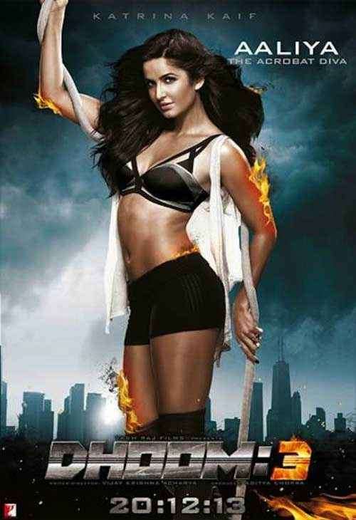 Dhoom 3 Katrina Kaif Hot Poster