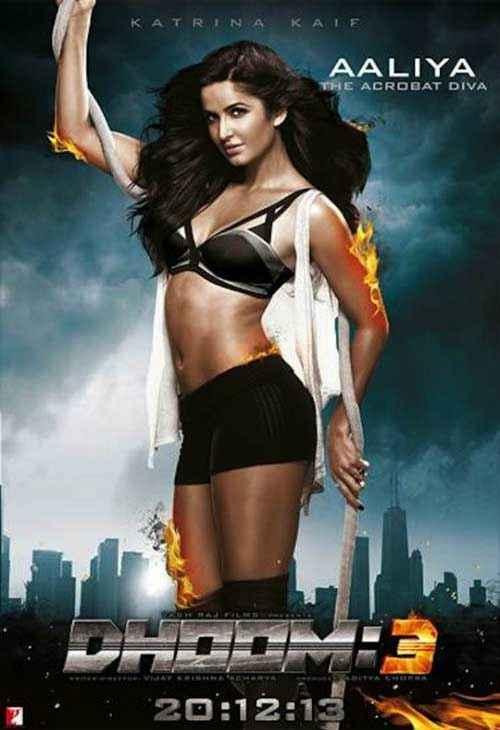 Dhoom 3 Katrina Kaif Hot Poster