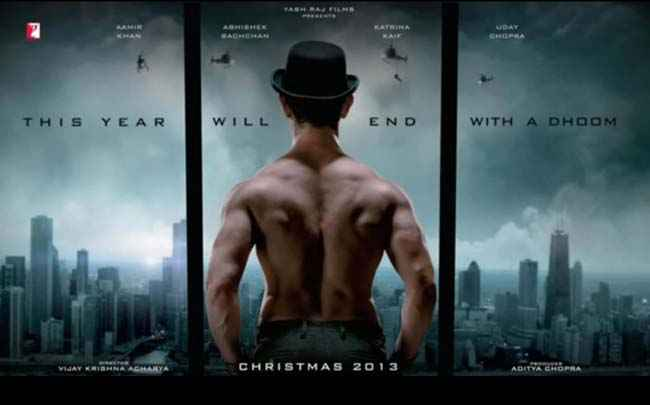 Dhoom 3 New Poster