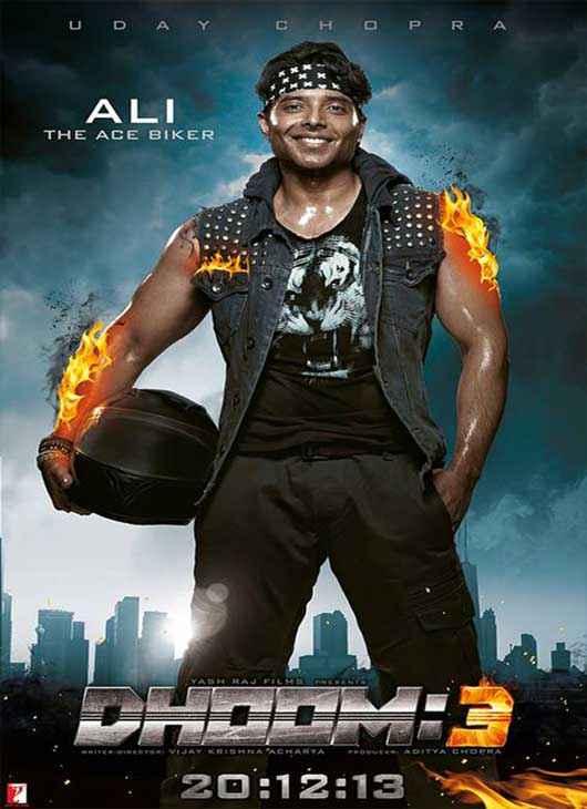 Dhoom 3 Uday Chopra Poster