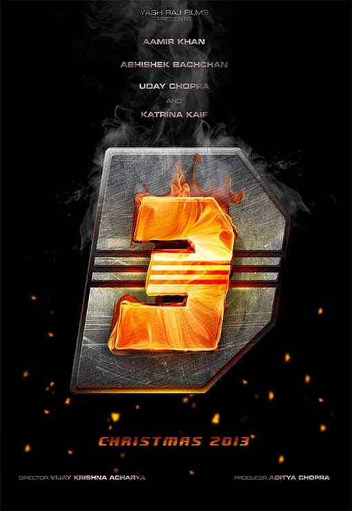 Dhoom 3 Wallpapers Poster