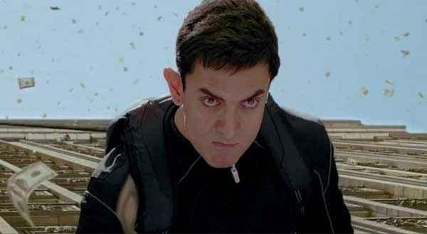 Dhoom 3 Aamir Khan HD Wallpaper Stills