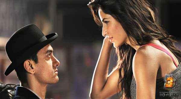 Dhoom 3 Aamir Khan Katrina Kaif Chemistry Stills