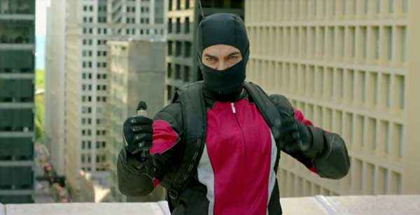 Dhoom 3 Aamir Khan With Nakab Stills