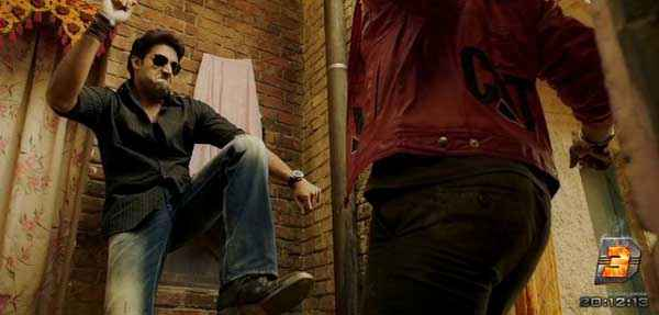 Dhoom 3 Abhishek Bachchan Fiting Pics Stills