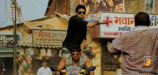Dhoom 3 Abhishek Bachchan Fiting Stills