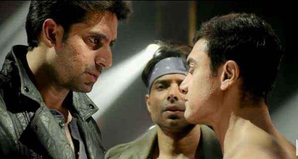 Dhoom 3 Abhishek Bachchan Uday Chopra Aamir Khan Stills