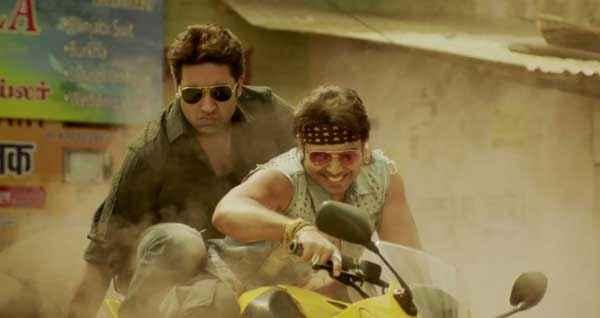 Dhoom 3 Abhishek Bachchan Uday Chopra Stills