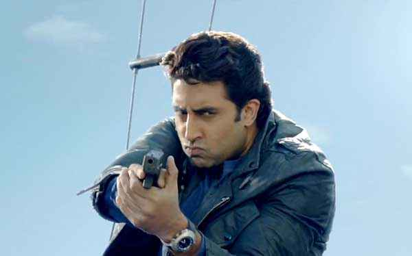 Dhoom 3 Abhishek Bachchan Stills