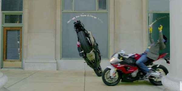 Dhoom 3 Bike Stunts Stills