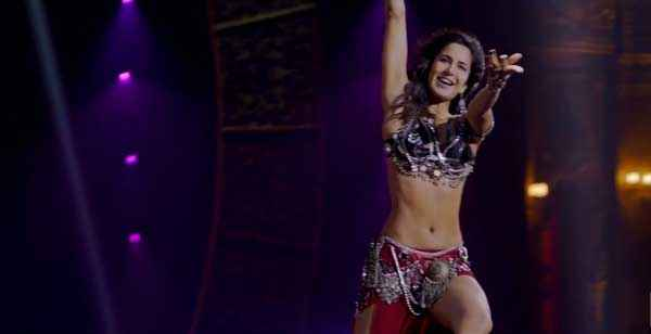 Dhoom 3 Katrina Kaif Hot Dress Stills