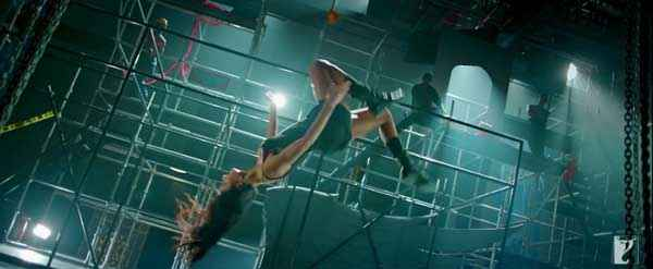Dhoom 3 Katrina Kaif Stunts Stills