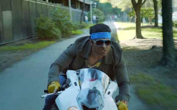 Dhoom 3 Uday Chopra Bike Action Stills