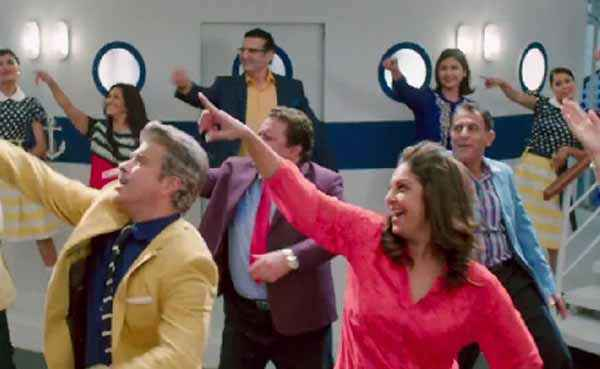 Dil Dhadakne Do Anil Kapoor Shifaali Shah Dance Stills