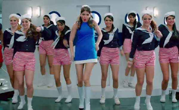 Dil Dhadakne Do Anushka Sharma in Blue Short Dress Stills