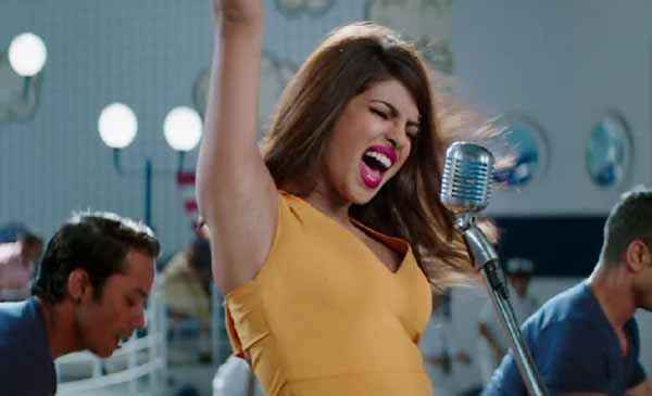 Dil Dhadakne Do Priyanka Chopra Yellow Short Dress Stills