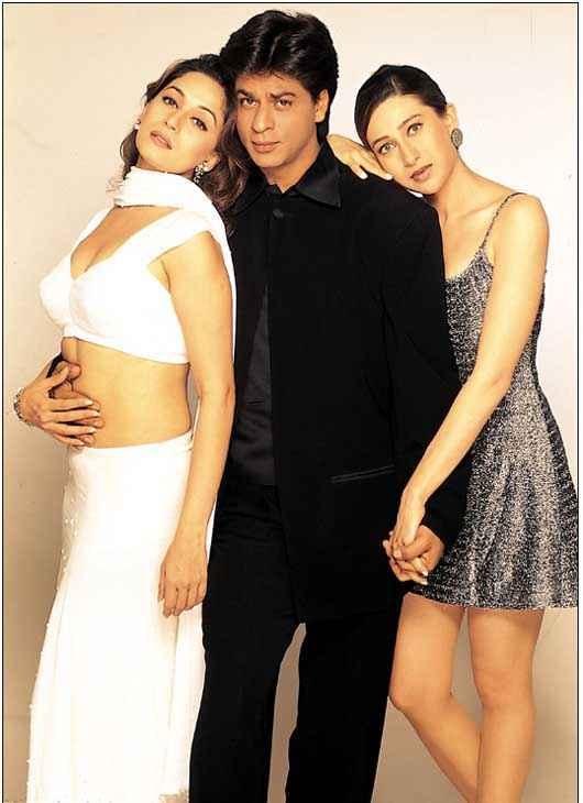 Dil To Pagal Hai Shah Rukh Khan Madhuri Dixit Karishma Kapoor Stills