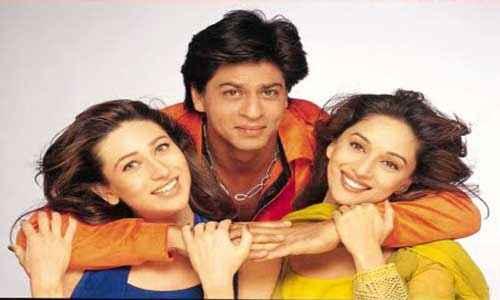 Dil To Pagal Hai SRK Madhuri Dixit Karishma Kapoor Pics Stills