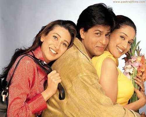 Dil To Pagal Hai SRK Madhuri Dixit Karishma Kapoor Stills