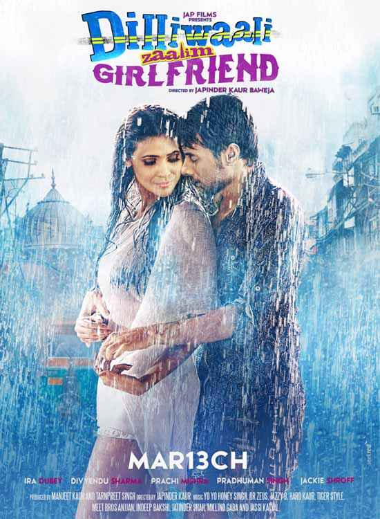 Dilliwaali Zaalim Girlfriend Poster