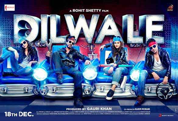 Dilwale 2015 Wallpaper Poster