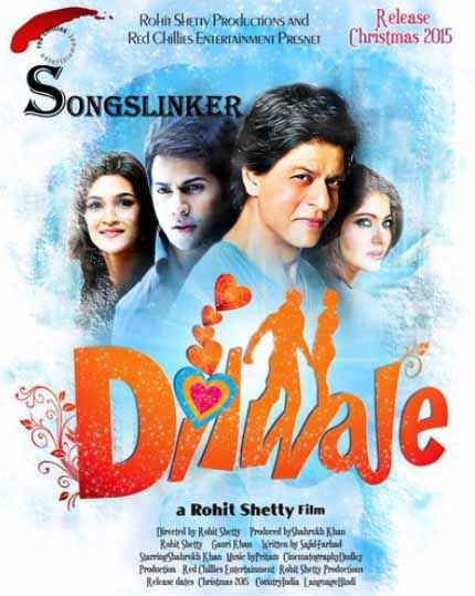 Dilwale 2015 Image Poster