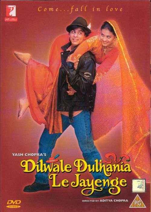 Dilwale Dulhaniya Le Jayenge SRK Kajol Poster